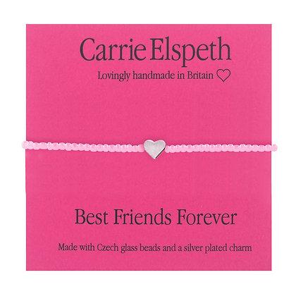 Best Friends Forever Childrens Sentiment Mini Bracelet