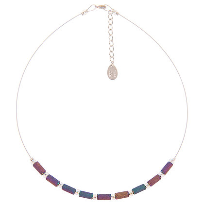 Spectrum Lava Tubes Links Necklace