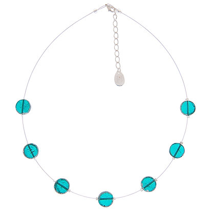 Turquoise Cosmic Necklace