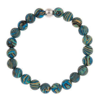 Zebra Marbled Bracelet (more colours available)