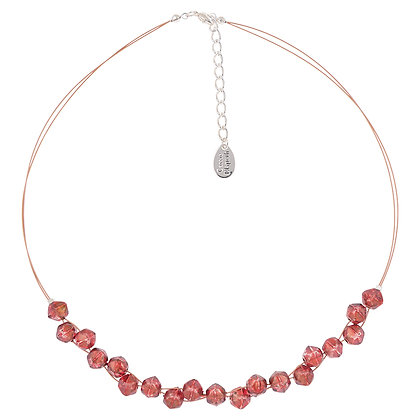 Faceted Double Strand Necklace (More Colours Available)