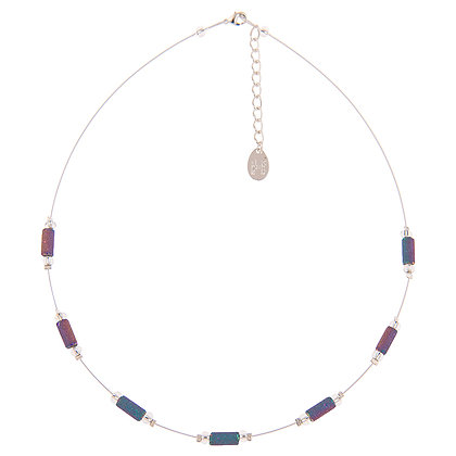 Spectrum Lava Tubes Spaced Necklace