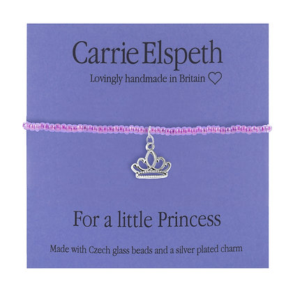 For a little Princess Sentiment Mini Bracelet