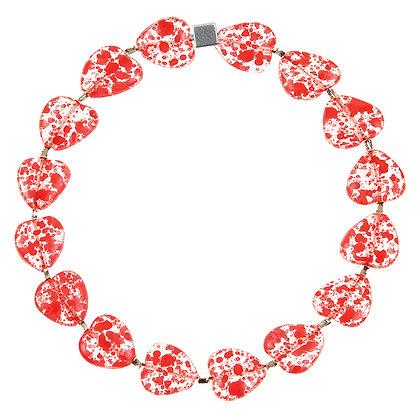 Ruby Sweetheart Bracelet