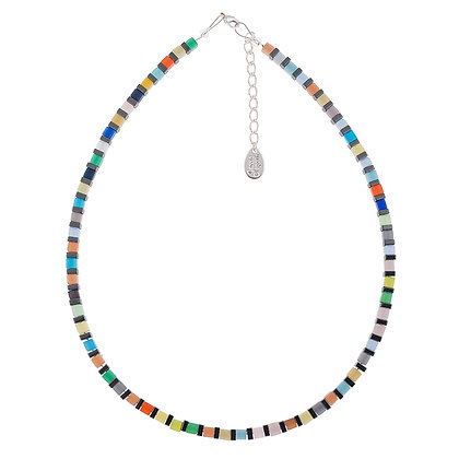 Cats Eye Cubes Necklace (More Colours Available)