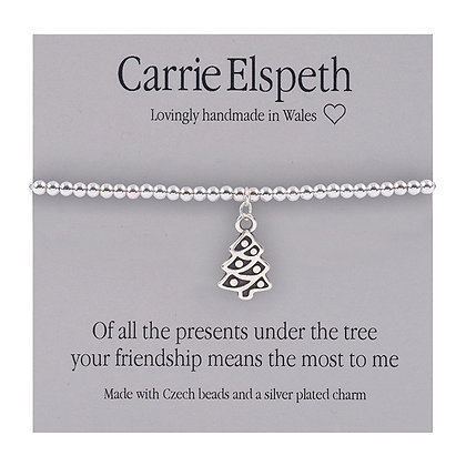 Of all the presents under the tree... Friendship Sentiment Bracelet