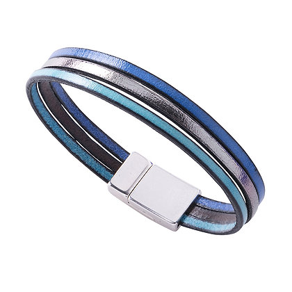 Trio Leather Bracelets (more colours available)