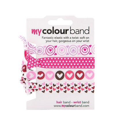 Hearts Colourbands