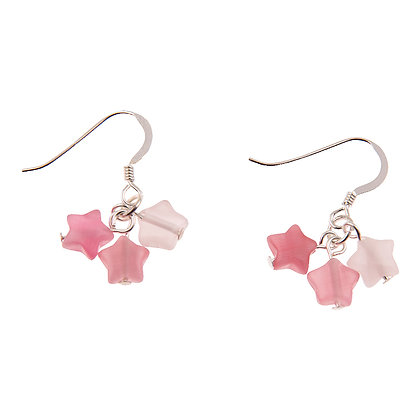 Cats Eye Star Earrings (more colours available)