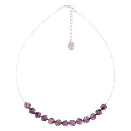Faceted Agate Necklace (more colours available)