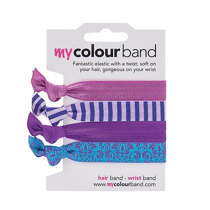 Purple Damask Colourbands