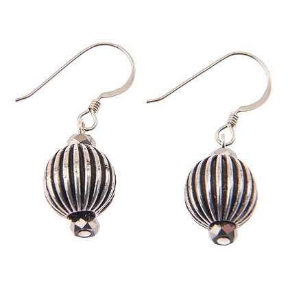 Silver Cage Earrings