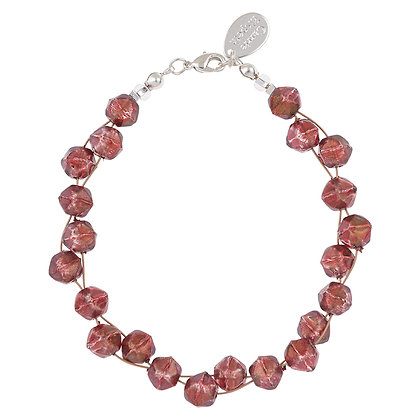Faceted Double Strand Bracelet (More Colours Available)