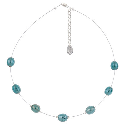 Pearlised Ovals Necklace (More Colours Available)