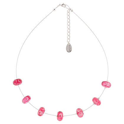 Frosted Halo Necklace (More Colours Available)