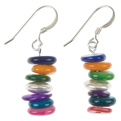 Rainbow Shells Earrings