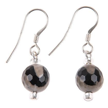 Agate Swirl Earrings