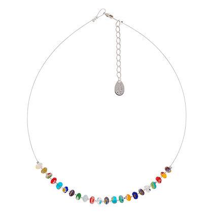 Spring Millefiori Links Necklace
