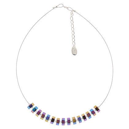 Spectrum Hexagon Necklace