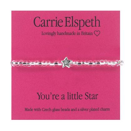 You're a little star Sentiment Mini Bracelet