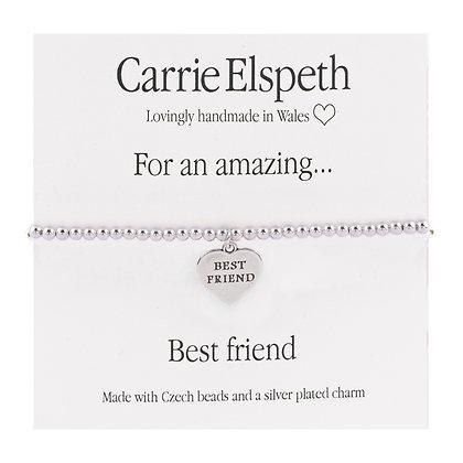 Amazing Best Friend Sentiment Bracelet