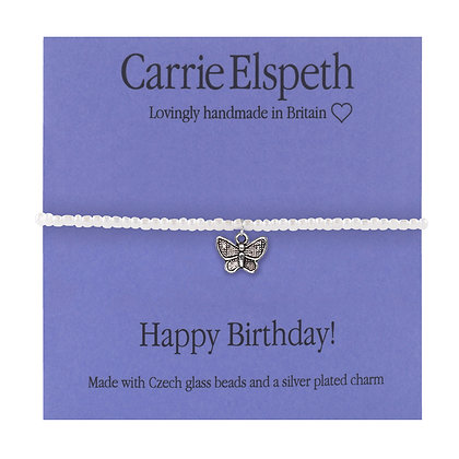 Happy Birthday! Sentiment Mini Bracelet