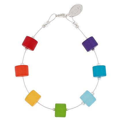 Rainbow Bracelet (More Finishes Available)