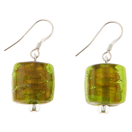 Copper Lined Square Earrings (more colours available)
