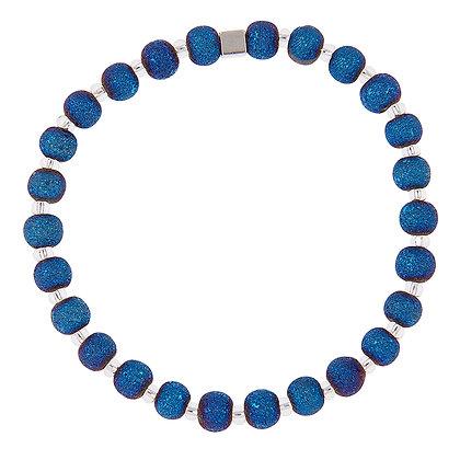 Indigo Lava Bracelet