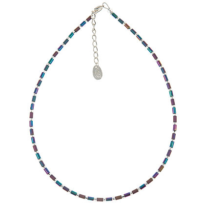 Geo Tubes Necklace (More Colours Available)