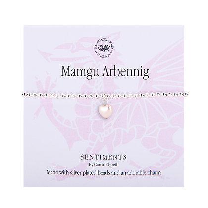 Mamgu Arbennig - Special Grandma/Nan Sentiment Bracelet