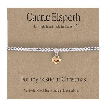 For my bestie at Christmas Sentiment Bracelet