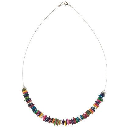 Rainbow Shells Necklace