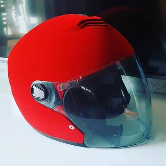 Flokowany kask motocyklowy Nolan