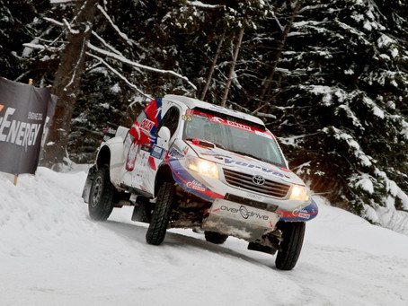 Good Luck to Dąbrowski in 2016 FIA Cross Country Rally World Cup