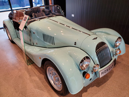 Our Tour at the Morgan Motor Company Factory