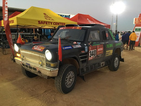 Snapshots from Dakar 2020