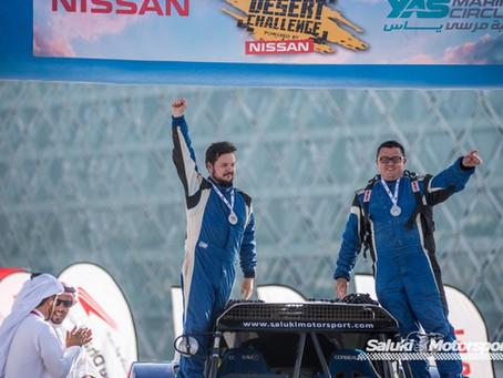 Saluki Motorsport claims double podium at 2018 Abu Dhabi Desert Challenge