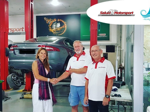 Saluki Motorsport is a proud sponsor for the Pearls- UAE Women's Sailing