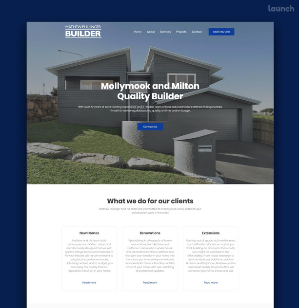Mathew Pullinger Builder