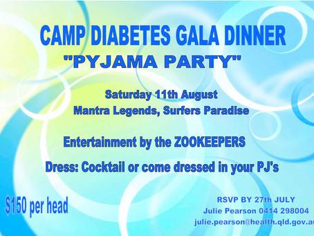 Camp Diabetes Gala Dinner