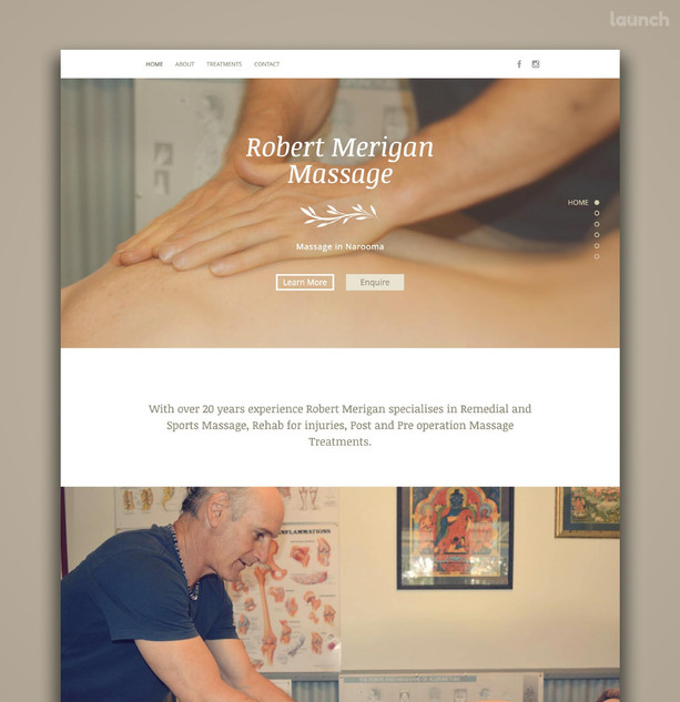Robert Merigan Massage