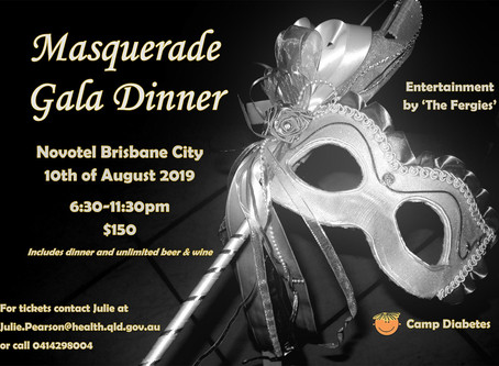2019 Camp Diabetes Gala Dinner