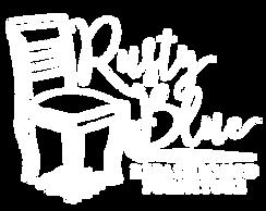 Rusty Blue White Logo