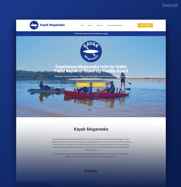 Kayak Mogareeka