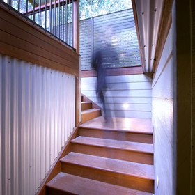 Inside outside stairs Hardys Bay NSW