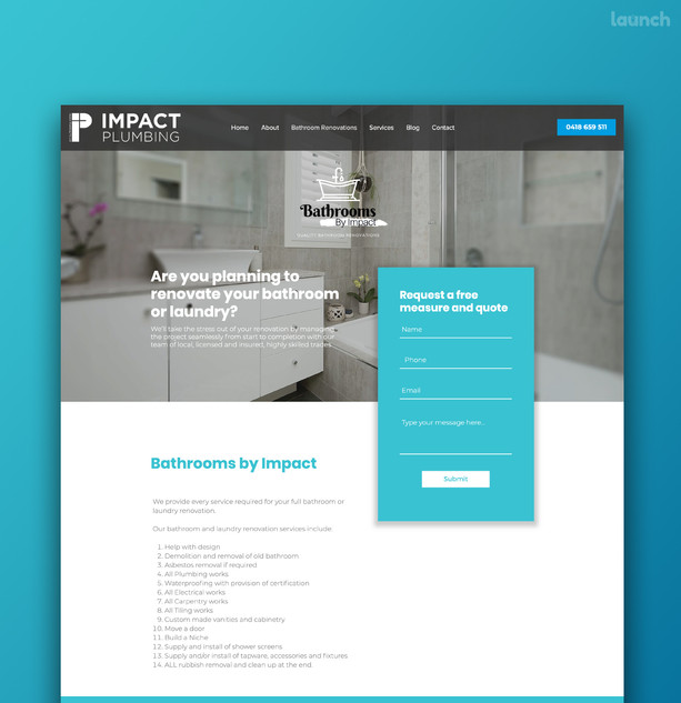 Bathrooms by Impact