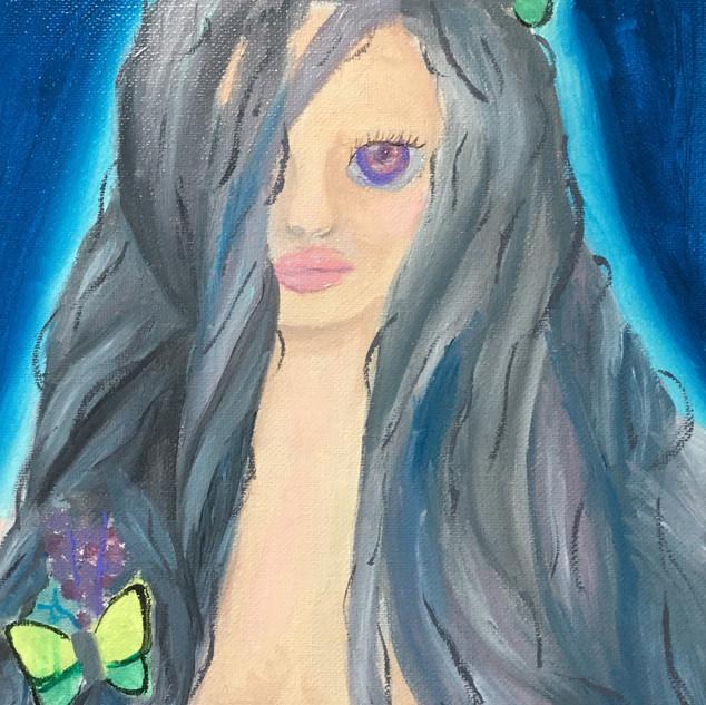 Sapphire Butterflies