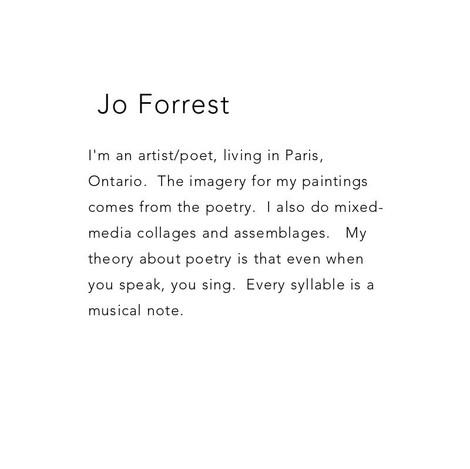 Jo Forrest