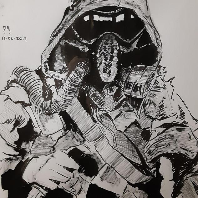 Gas Mask/Dystopian